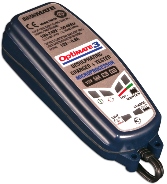 Optimate 3 Battery Charger Shop